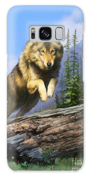 Wolf Run Galaxy Case