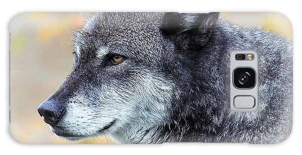 Wolf Galaxy Case by Steve McKinzie
