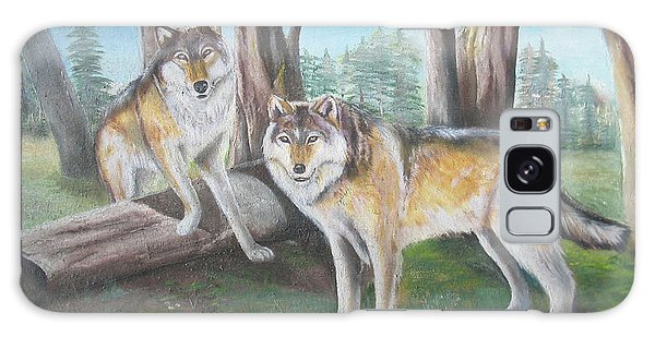 Wolves In The Forest Galaxy Case
