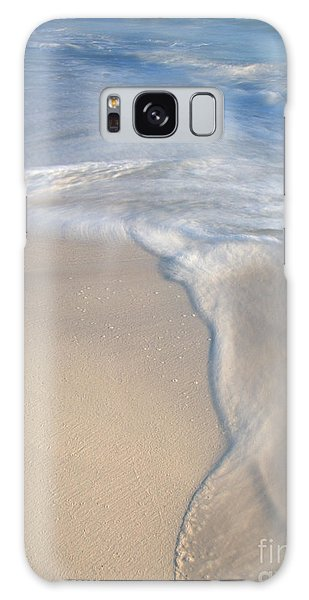 Woman On Beach Galaxy Case