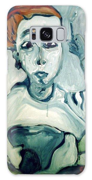Woman Smoking Galaxy Case