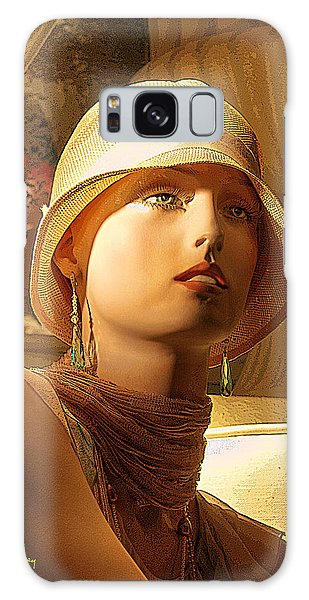 Woman With Hat - Chuck Staley Galaxy Case