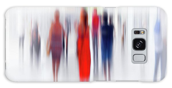 Creative Galaxy Case - Women In Red by Anette Ohlendorf