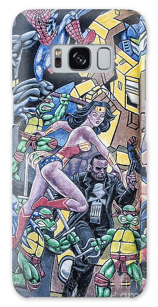 Wonder Woman Abstract Galaxy Case by Terry Rowe