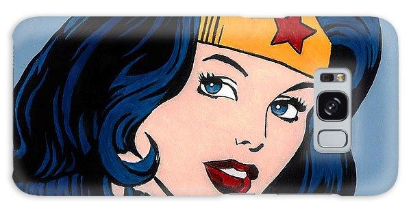 Superhero Galaxy Case - Wonder Woman by Brian Broadway