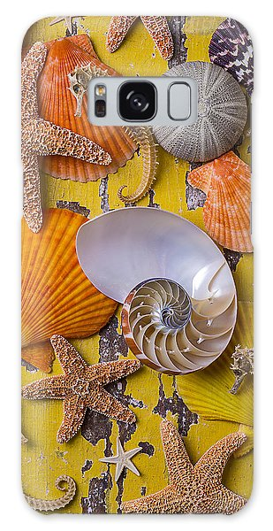 Wonderful Sea Life Galaxy Case by Garry Gay