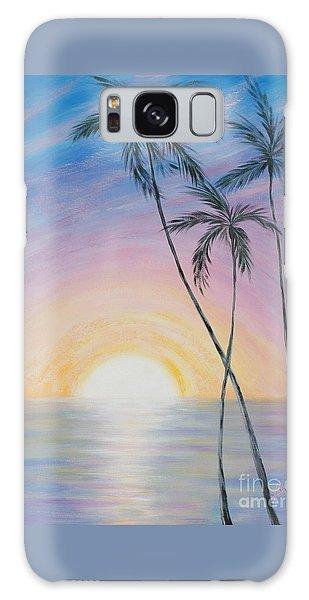 Wonderful Sunrise In Paradise Galaxy Case
