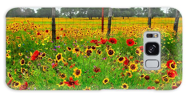 Wonderful Wildflowers Galaxy Case