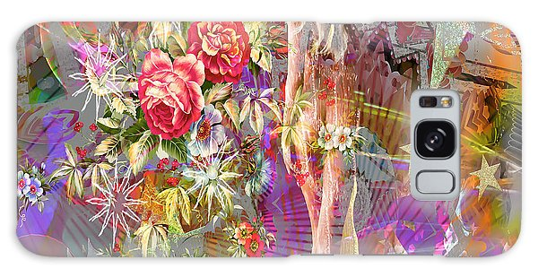Galaxy Case featuring the digital art Wonderland by Eleni Mac Synodinos