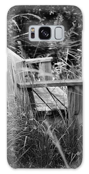 Wood Bench Galaxy Case