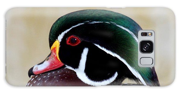 Wood Duck 1 Galaxy Case by Bob and Jan Shriner