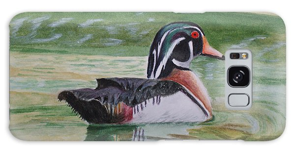 Wood Duck Galaxy Case