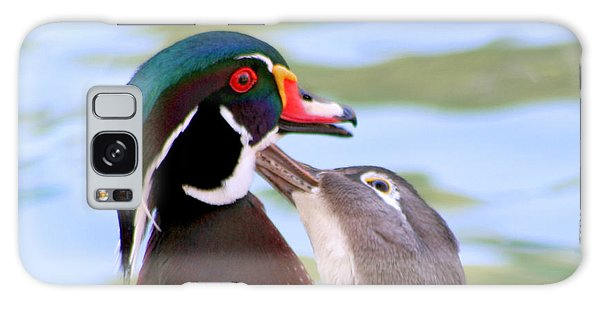 Wood Duck Love Galaxy Case by Bob and Jan Shriner