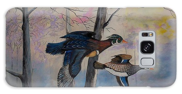 Wood Ducks Galaxy Case