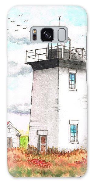 Wood End Lighthouse - Massachusetts Galaxy Case by Carlos G Groppa