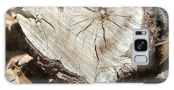Wood Heart Galaxy Case