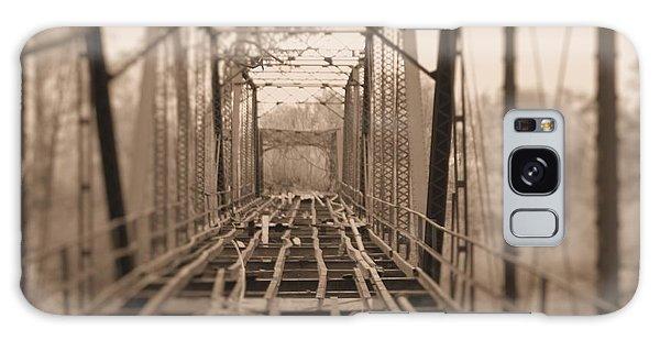 Woodburn Bridge Indianola Ms Bw Galaxy Case