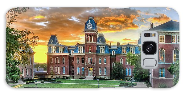 Galaxy Case featuring the photograph Woodburn Hall Evening Sunset by Dan Friend