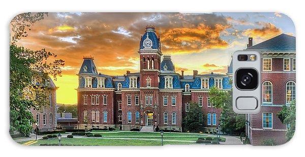 Woodburn Hall Evening Sunset Galaxy Case