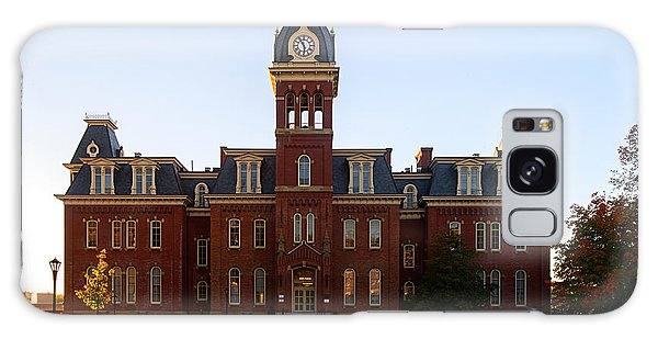 Galaxy Case featuring the photograph Woodburn Hall Late Afternoon Sun by Dan Friend