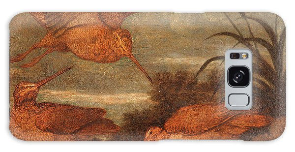 Woodcock At Dusk, Francis Barlow, 1626-1702 Galaxy Case