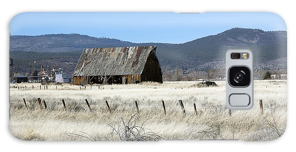 Wooden Barn Near Susanville Galaxy Case by Carol M Highsmith