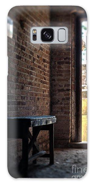 Wooden Bench Galaxy Case