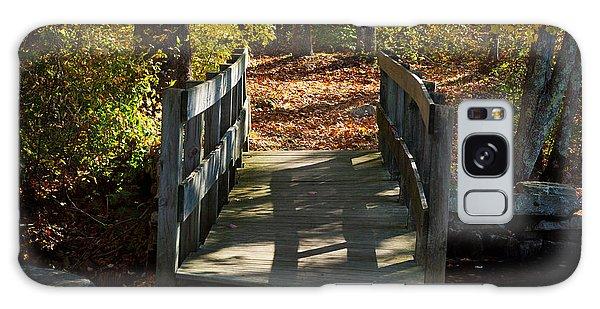 Wooden Bridge - Ledyard Sawmill Galaxy Case