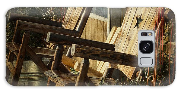 Wooden Chairs Galaxy Case