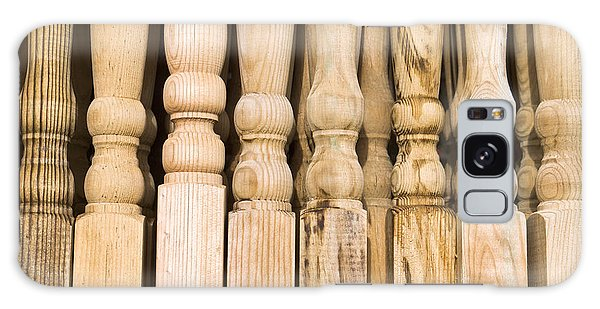 Banister Galaxy Case - Wooden Posts by Tom Gowanlock