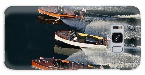 Wooden Runabouts On Lake Tahoe Galaxy Case