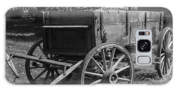 Wooden Wagon Galaxy Case by Robert Hebert