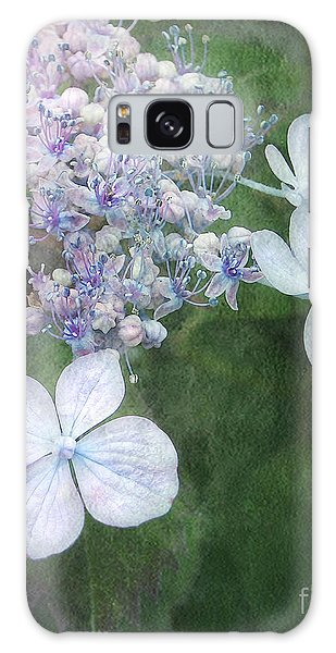 Woodland Hydrangea In Blue Galaxy Case