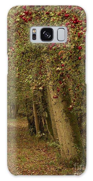 Woodland In Autumn Galaxy Case