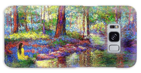 Stream Galaxy Case - Woodland Rapture by Jane Small