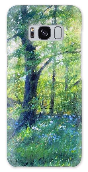 Woodland Sunset Galaxy Case by Bonnie Mason