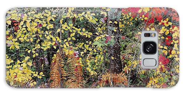 Woodland Tapestry Galaxy Case by Alan L Graham