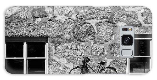 Woods Hole Bike Wall Galaxy Case