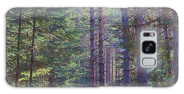 Woods II Galaxy Case by Shirley Moravec