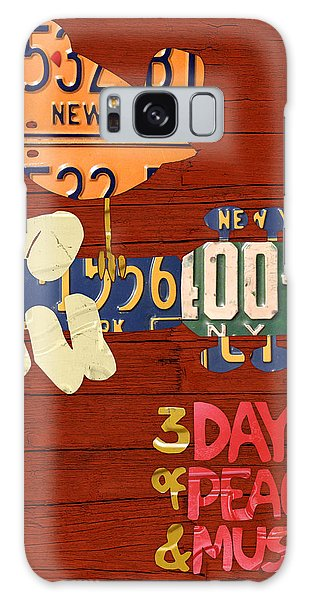 Recycle Galaxy Case - Woodstock Music Festival Poster License Plate Art by Design Turnpike