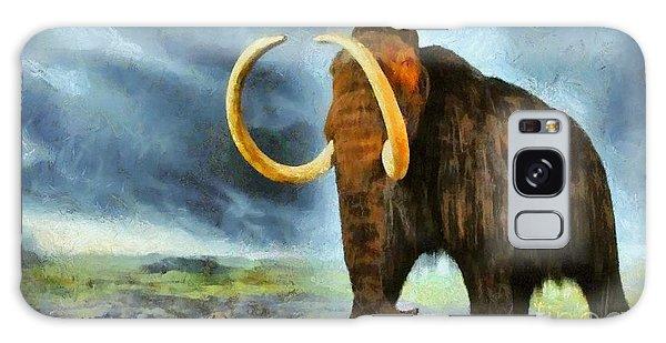 Wooly Mammoth Galaxy Case by Elizabeth Coats