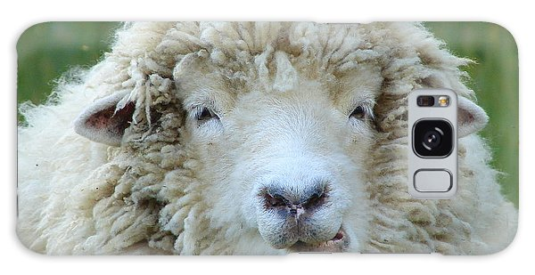 Wooly Sheep Galaxy Case by Ramona Johnston