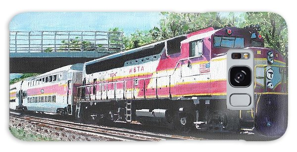 Worcester Bound T Train Galaxy Case