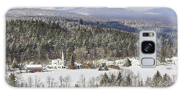 Worcester Vermont Winter Galaxy Case by Alan L Graham