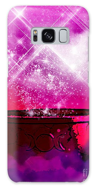 Work The Magic Galaxy Case by Persephone Artworks