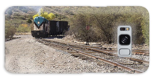 Work Train In Clarkdale Arizona Galaxy Case