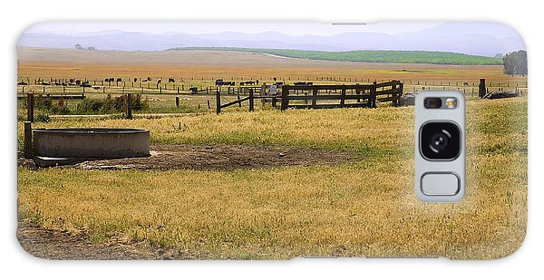 Working Cattle Ranch Galaxy Case