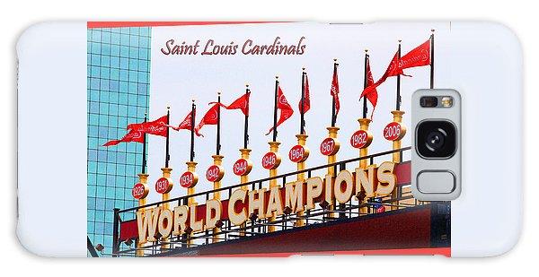 World Champions Flags Galaxy Case by John Freidenberg