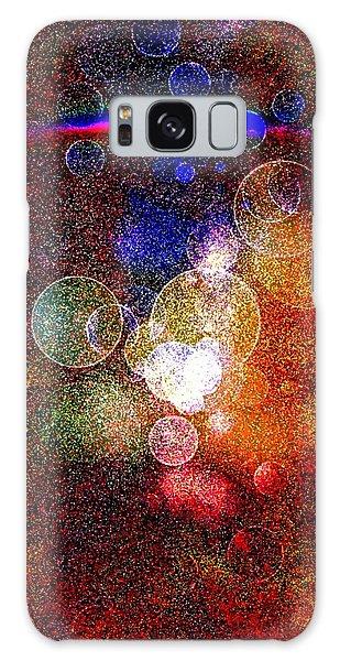 World Explosion By Nico Bielow Galaxy Case by Nico Bielow