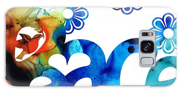 Peace Galaxy Case - World Peace 3 - Loving Art by Sharon Cummings